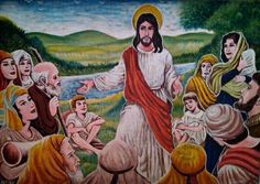 Jesus with his people  My Lolo's Art