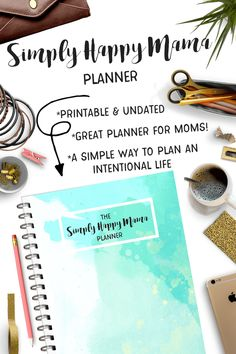 The Simply Happy Mama Planner is a Printable Planner to help keep your life organized! This Printable Planner has tons of Planner Printables for Moms! Printable Planner, Printables, Mom Planner, Mentally Strong, Life Organization, Mom Blogs, Parenting Advice, Simple Way, Messages