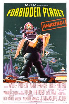 forbidden planet 1956 - love Robbie... So glad TCM shows this movie so often... Again today.. ❤️❤️❤️. But I also love the Krell.... Google Search