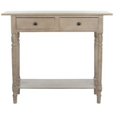 Safavieh Cape Cod Grey 2-drawer Console Table | Overstock.com Shopping - Great Deals on Safavieh Coffee, Sofa & End Tables