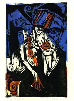 Ernst Ludwig Kirchner, Kämfe, 1915