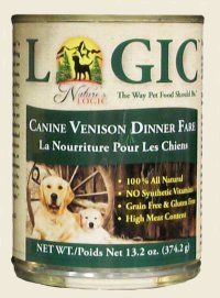 Nature's Logic Canine Canned - Venison    •Over 55% Animal Ingredients  •Gluten Free  •Probiotics  •Enzymes  •100% Natural  •No Synthetic Vitamins or Minerals    Available in 4.4 lb and 26.4 lb sizes    #OmahaPetFood #TheGreenSpot #DogFood