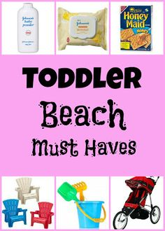 Toddler Beach Must Haves