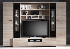 Tv Console Design, Tv Wall Design, Tv Unit Design, Small House Interior Design, Small House Decorating, Home Office Design, Bedroom Tv Cabinet, Small Room Bedroom, Media Wall Unit
