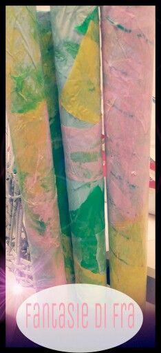 Bastoni della pioggia! Un regalo per tutte le mamme...un pensierino fatto a scuola.... ♡ #fantasiedifra