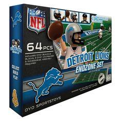 NFL Detroit Lions Endzone Set, Det Lions