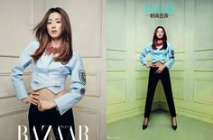 Harper's Bazaar Korea April 2014, Jun Ji Hyun 全智賢 -2