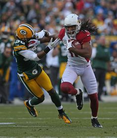 Larry Fitzgerald Photo - Arizona Cardinals v Green Bay Packers