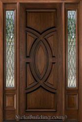 Olympus Mahogany Wood Door