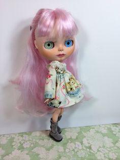 Vyhrazeno pro Darkside- Custom Blythe Doll OOAK Art Doll Named Piper Noelle, podle EmmyB.lythe- konečná platba