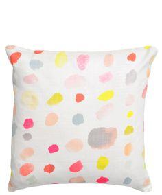 Paint Palette Pillow Cover