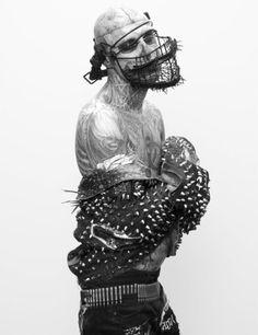 Rick Genest - Facemask