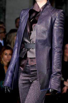 Haider Ackermann at Paris Fashion Week Fall 2012