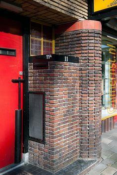 Amazing Architecture, Modern Architecture, Art Deco, Art Nouveau, Amsterdam School, Brickwork, Dutch, Places, Outdoor Decor