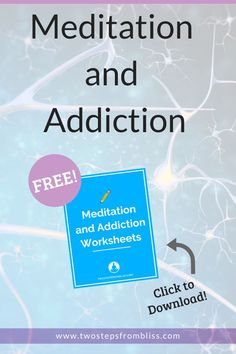 Meditation And Addiction: How Meditation Helps In The Battle Against Addiction | Two Steps From Bliss | Did you know that meditation can help to address addiction issues? Here are the top 10 ways in which meditation helps you overcome addiction. #twostepsfrombliss #meditation #meditationhealth Meditation Kids, Meditation For Health, Meditation Benefits, Meditation For Beginners, Mindfulness Meditation, Guided Meditation, Spiritual Life, Spiritual Awakening, Emotional Pain