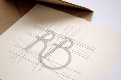 Identité visuelle réalisée pour l'ostéopathe Renaud Bénard