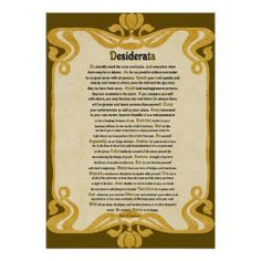 >>>Cheap Price Guarantee          	Vintage Paper Look Desiderata Poem by Max Ehrman Poster           	Vintage Paper Look Desiderata Poem by Max Ehrman Poster so please read the important details before your purchasing anyway here is the best buyThis Deals          	Vintage Paper Look Desiderat...Cleck Hot Deals >>> http://www.zazzle.com/vintage_paper_look_desiderata_poem_by_max_ehrman_poster-228458804693022709?rf=238627982471231924&zbar=1&tc=terrest