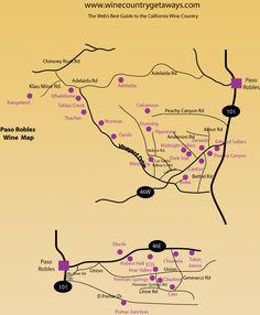 Paso Robles Wine Region CA
