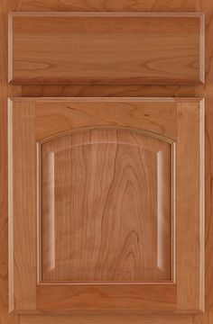 Cherry Arch Raised Panel Natural #cabinets