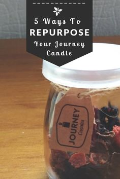 For Plastic Free July, Journey Candles are sharing their insights on how to reuse your candles. Brilliant ideas to add to your home decor, storage and more! Plastic Free July, 5 Ways, Reuse, Repurposed, Journey, Community, Candles, Gift Ideas, Group