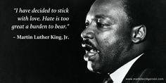 I first came upon this quote from Martin Luther King, Jr. while writing The StarQuest, The Q'ntana Trilogy, Bk 2), and it so expressed one of the story's predominant themes that I ultimately included it in the book as an epigraph. http://www.markdavidgerson.com/books/starquest