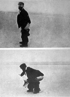 En la playa de Le Crotoy. Fotos Maurice Joyant. 1899