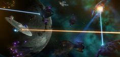 As Dominion and Cardassian ships overwhelm the Federation taskforce, they are forced to make a hasty retreat due to mounting losses. Ambassador by LC_Amaral - Intrepid and Excelsior by Rick Knox - ...