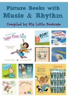 Picture books with music and rhythm_Wonderful resources for the classroom, and lots of opportunities for interaction and re-enactment. STUDENTS LOVE THESE RHYTHM BOOKS! Preschool Music, Preschool Books, Music Activities, Teaching Music, Learning Piano, Literacy Activities, Music And Movement, Music Lessons, Singing Lessons
