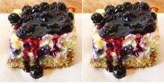Fitness tvarohový koláč s ovocím - Receptik.sk