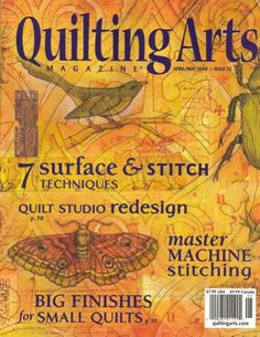 Quilting Arts Magazine, April/May 2008 Issue « Library User Group