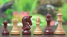 Chessbazaar The Stauntan Series Wooden Chess Pieces In Bud Rose  Box Wood *** More info could be found at the image url.