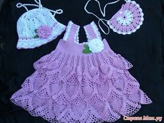 Crochet dress| How to crochet an easy shell stitch baby / girl's dress for beginners 40 - YouTube