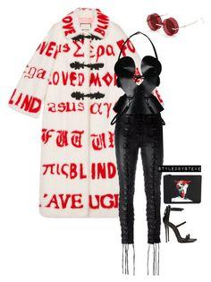 """Untitled #240"" by styledbysteve ❤ liked on Polyvore featuring Gucci, Unravel, Zana Bayne, Percy Lau, Giuseppe Zanotti and Givenchy"