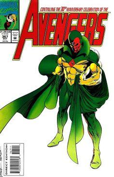 Avengers #367 (Oct '93) cover by Steve Epting & Tom Palmer.