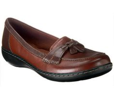 Clarks Slip-on Loafers - Ashland Bubble - get the metallic
