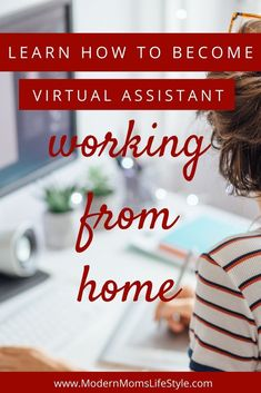 How to become a virtual assistant Make Money From Home, Way To Make Money, Virtual Assistant, Money Tips, How To Become, Learning, Lifestyle, Debt, Schedule