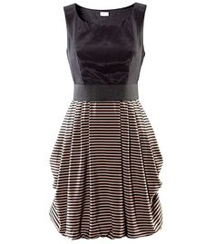 H&M; striped dress