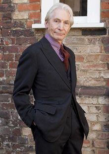 Charlie Watts in 2010. The most dapper Rolling Stone.