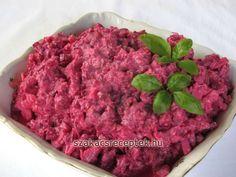 Céklasaláta zellerrel és joghurttal • Recept | szakacsreceptek.hu