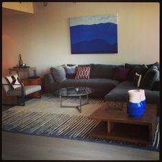 Modern Condo living room Jill Cordner Interior  Design