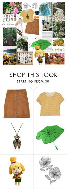 """turning over a new leaf // animal crossing"" by regal-recluse ❤ liked on Polyvore featuring Oris, Wallace, Soaked in Luxury, Monki, Marc Jacobs, Nintendo, Wall Pops!, videogames, animalcrossing and nintendo"