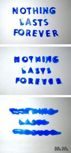 Nothing Lasts Forever #nothing #lasts #forever #ice #melt