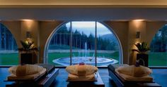 Luxury Ireland Spa Hotel & Resort: The Ritz-Carlton, Powerscourt. Another lovely hotel we stayed at in Ireland. Spa Breaks, Hotel Packages, Wellness Spa, Luxury Spa, Hotel Spa, Beautiful Islands, Resort Spa, Hotels And Resorts, Places