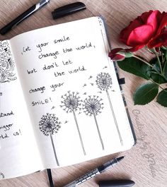 One of my older spreads  Love this quote so much!  How about you?