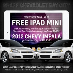 #Graff Holiday Sale and #Free #iPad Special