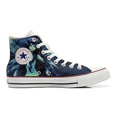 Scarpe Converse All Star personalizzate (Prodotto Artigianale) Elfo - TG38 - http://on-line-kaufen.de/make-your-shoes/38-eu-converse-all-star-personalisierte-schuhe-29