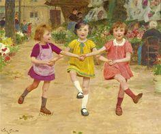 Three friends (Victor Gabriel Gilbert)