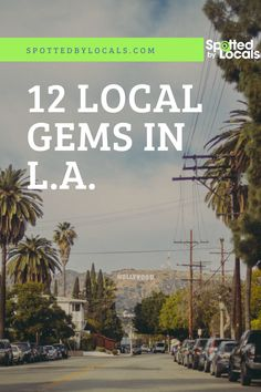 Where can you escape the tourists? We picked some of the most unique, hidden gems in Los Angeles, discovered by our very own team of Spotters. Los Angeles Vacation, Los Angeles Travel, Travel Expert, Hollywood Sign, California Travel, Need To Know, Wanderlust, Gems, How To Plan