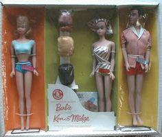 Fashion Queen Barbie Gift Set (Barbie, Ken & Midge)