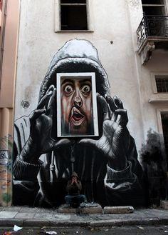 "Graffiti Art Wall| Freedom Of Expression| Serafini Amelia| by WD Street Art - ""Captured"""